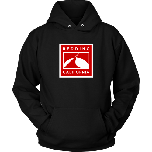 Redding in Red Unisex Hoodie