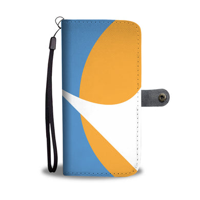 Redding City Flag Wallet Case