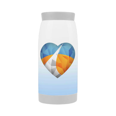 Polygonized Heart Insulated Travel Mug (12 OZ)