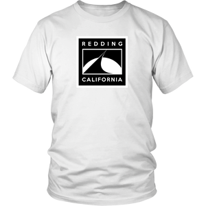 Redding Black and White District Unisex Shirt
