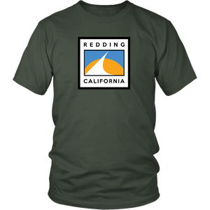 Redding Flag District Unisex Shirt