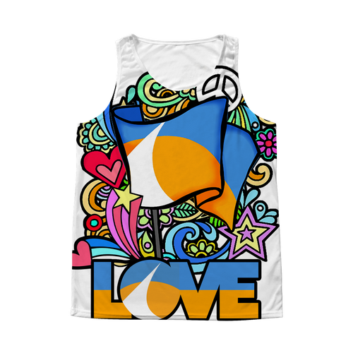 Love Redding Retro All Over Print Tank