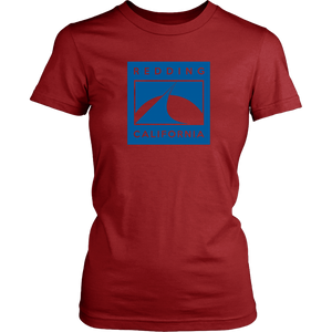 Redding in Blue District Womens Shirt