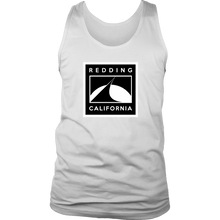 Redding Black and White District Mens Tank