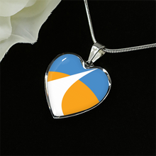 Redding City Flag Necklace and Bangles