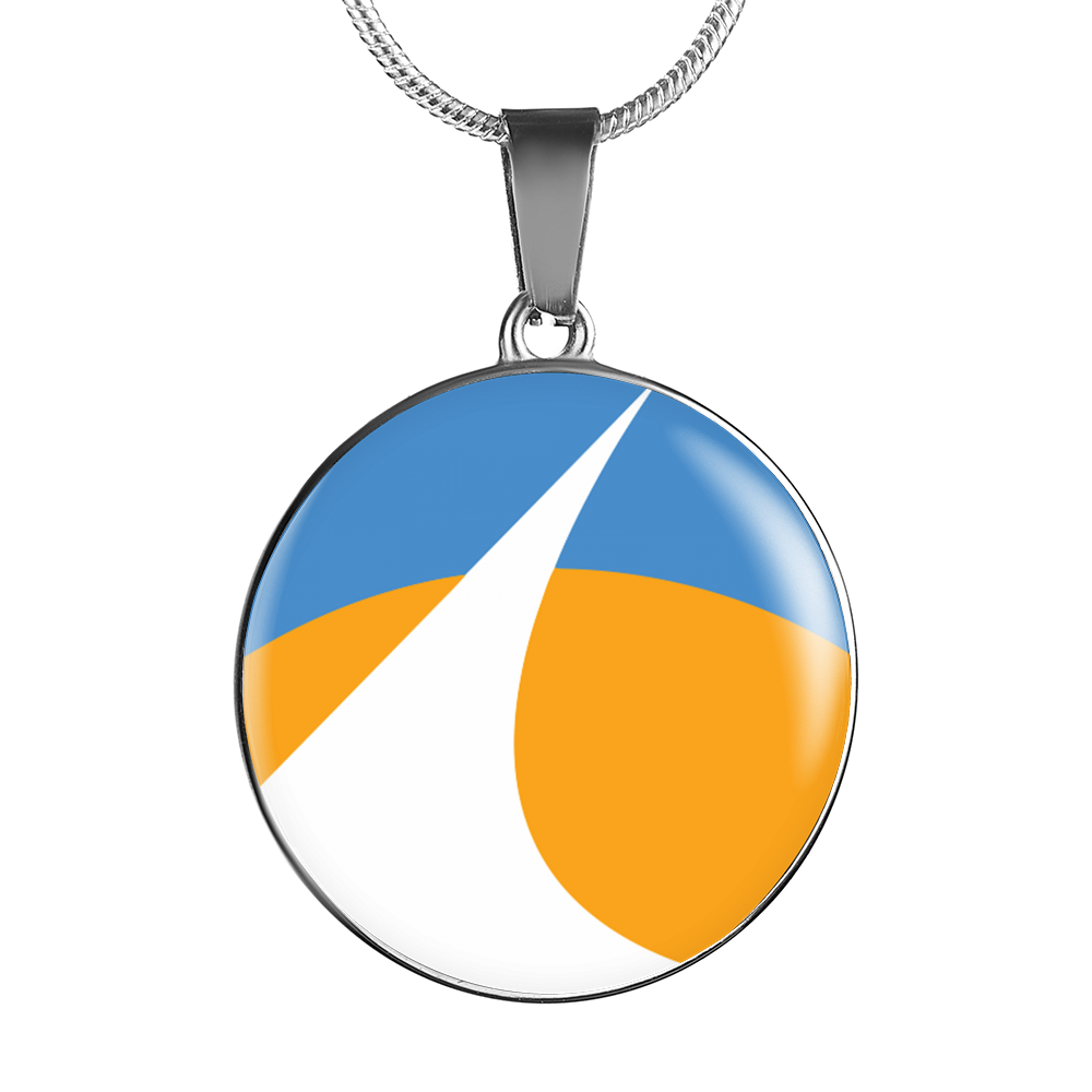 Redding City Flag Necklace and Bangle