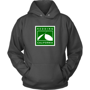 Redding in Green Unisex Hoodie