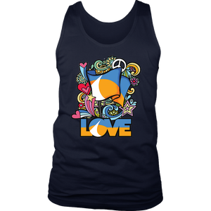 LOVE Redding Retro District Mens Tank