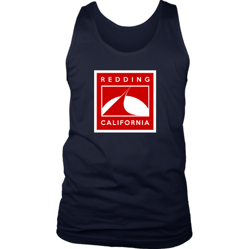 Redding in Red District Mens Tank