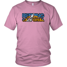 Redding California District Unisex Shirt