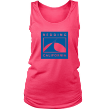 Redding in Blue District Womens Tank