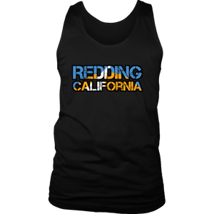 Redding California District Mens Tank