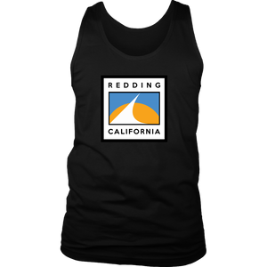 Redding Flag District Mens Tank