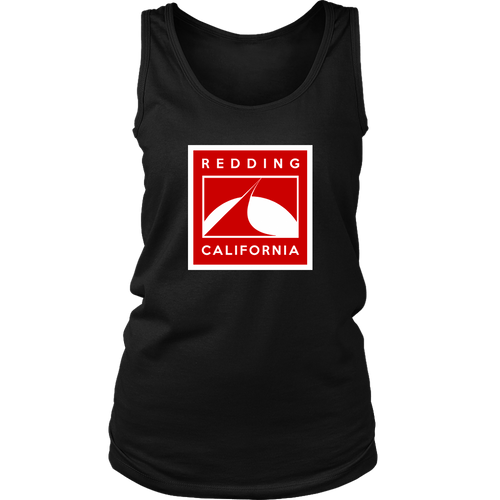 Redding in Red District Womens Tank