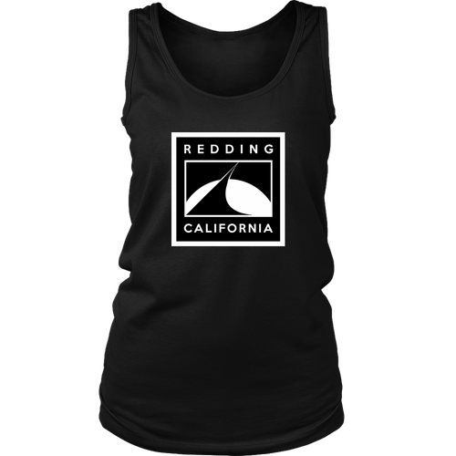 Redding Black and White District Womens Tank