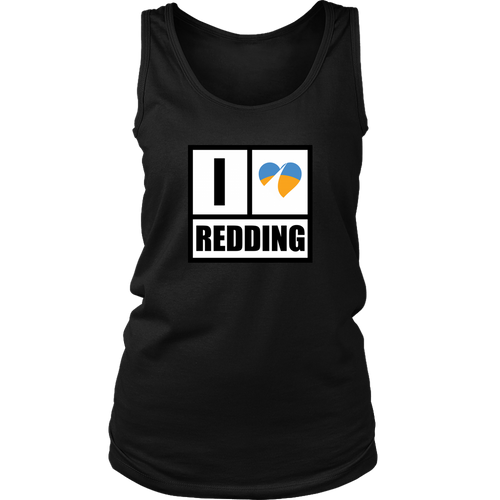 I Heart Redding District Womens Tank