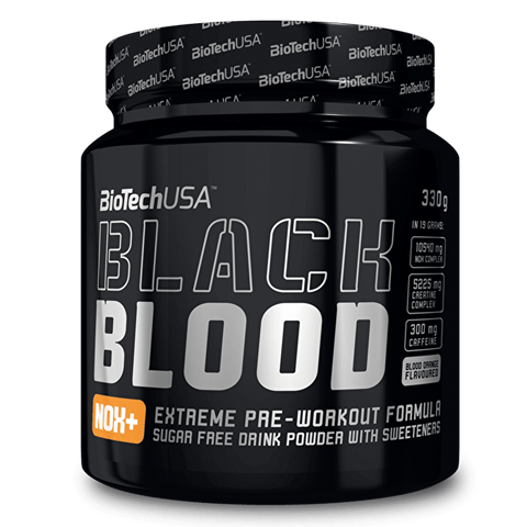 BioTech USA Black Blood NOX+ - gymstop