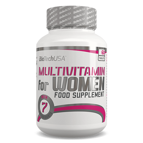 BioTech USA Multivitamin for Women 60 Tablets - gymstop
