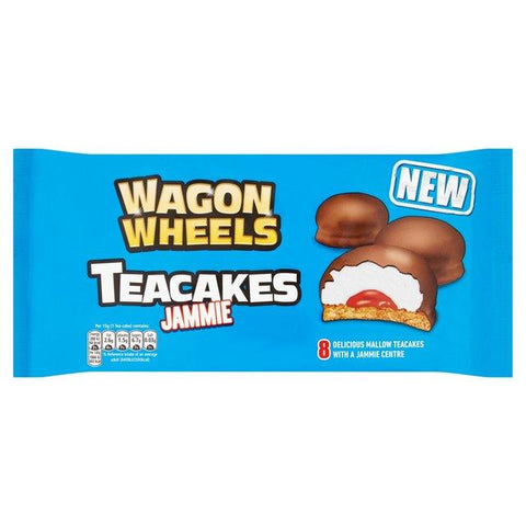 Wagon Wheels Jammie Teacakes 8 Pack