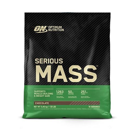 Optimum Nutrition Serious Mass 5.45kg - Damaged