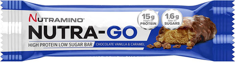 Nutramino Nutra-Go Protein Bar 12 x 64g - Out of Date