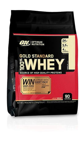 Optimum Nutrition Gold Standard 100% Whey 2.74kg - gymstop