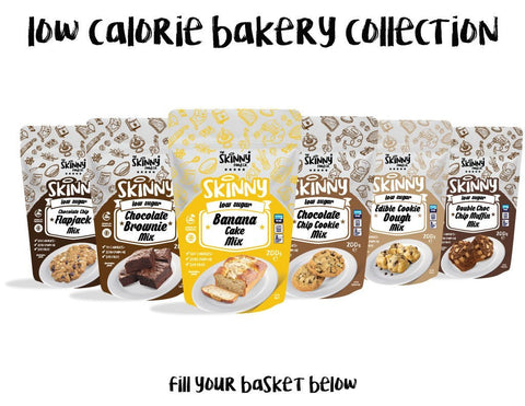 The Skinny Food Co Low Calorie Baking Kits 200g