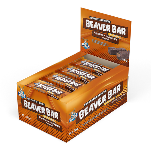 Muscle Moose Beaver Bar 12x60g - gymstop