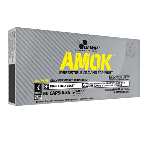 Olimp Nutrition Amok 60 Caps - gymstop