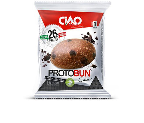 Ciao Carb Protein Chocolate Bun 50g