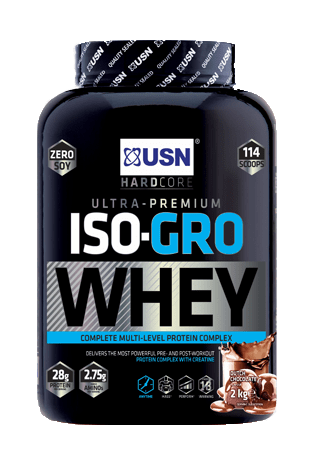USN Iso-Gro Whey 2kg - gymstop