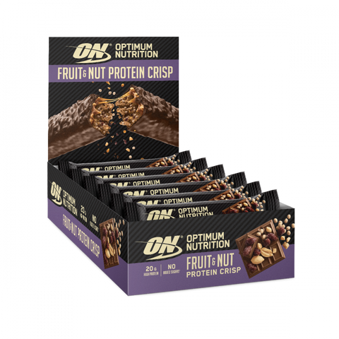 Optimum Nutrition Fruit & Nut Protein Crisp Bar 10 x 70g