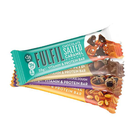 Fulfil Vitamin & Protein Bar 15 x 55g - gymstop