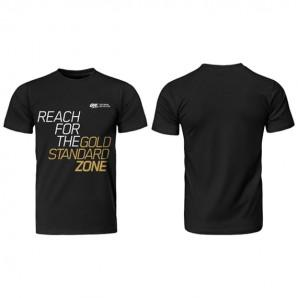 Optimum Nutrition Gold Standard Zone Black T-shirt - gymstop