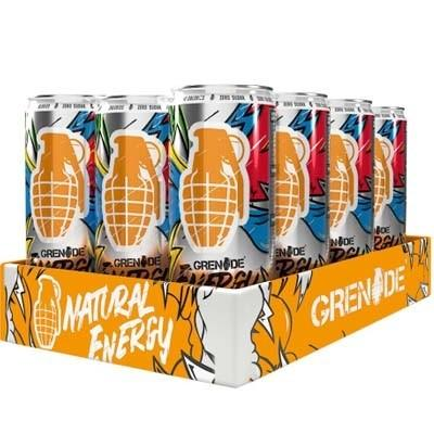 Grenade Energy RTD 12 x 330ml - gymstop
