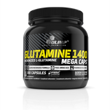 Olimp Nutrition Glutamine Mega Caps 120 Caps - gymstop