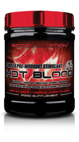 SciTec Nutrition Hot Blood 3.0 Pre Workout - gymstop