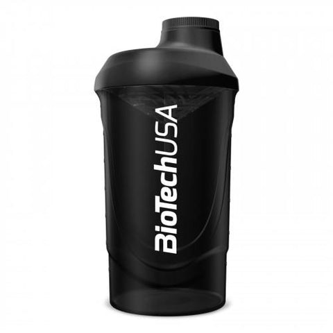 BioTech USA Black Shaker 600ml - gymstop
