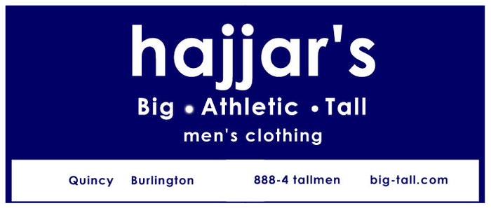 Hajjar's Big & Tall Mens Clothing