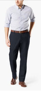 Dockers Signature Plain Front Navy