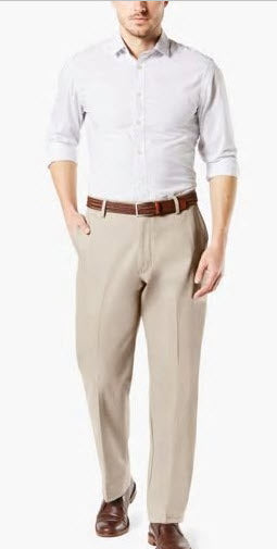 Dockers Signature Plain Front Cloud