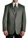 Jean Paul Germain 100% Wool Herringbone Sport Coat