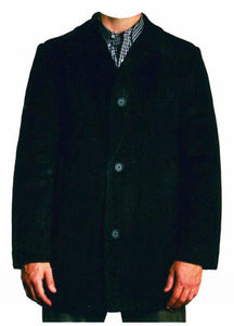 Jean Paul Gemain Wool Blend 3/4 Car Coat