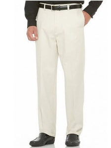 Savane Performance Straight-Fit Flat-Front Pant String