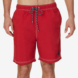 Nautica Full-Elastic Swim Trunks