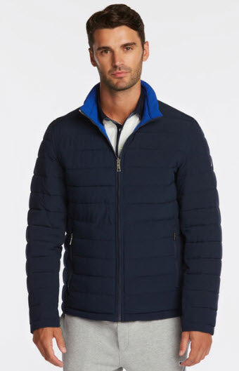 Nautica Quilted Reversible Jacket