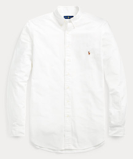 Polo Classic Fit Oxford Shirt