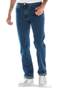 Full Blue Stretch Denim Jean