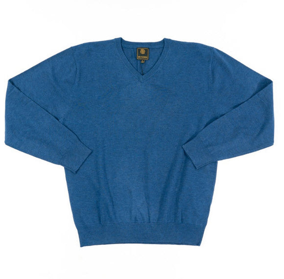 FX Fusion Cobalt V-Neck Sweater