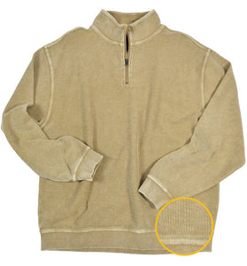 FX Fusion Enzyme Wash 1/4 Zip Sweater